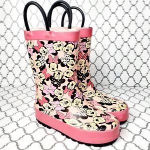 Western Chief Minnie Mouse Rainboots 8